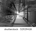 abstract architecture | Shutterstock . vector #52929418