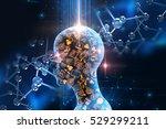 Virtual Human 3dillustration O...