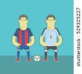 uruguay football players | Shutterstock .eps vector #529325227