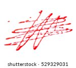 berry syrup decoration close up ...   Shutterstock . vector #529329031