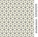 3d seamless cube pattern.... | Shutterstock .eps vector #529329295