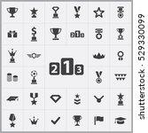 award icons universal set for...   Shutterstock . vector #529330099