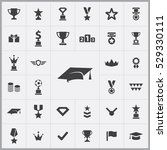 award icons universal set for... | Shutterstock . vector #529330111