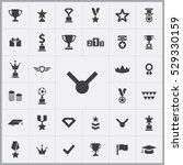 award icons universal set for...   Shutterstock . vector #529330159