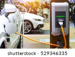 the power supply for charging...   Shutterstock . vector #529346335
