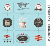 christmas collection | Shutterstock .eps vector #529355167