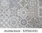 ceramic tiles patterns | Shutterstock . vector #529361431