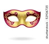 carnival mask. vector... | Shutterstock .eps vector #52936735