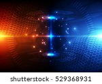 vector digital global... | Shutterstock .eps vector #529368931