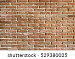 vintage brick wall background... | Shutterstock . vector #529380025