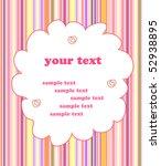 children gift card background.... | Shutterstock .eps vector #52938895