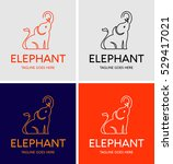 elephant vector logo | Shutterstock .eps vector #529417021