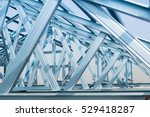 Structure Of Steel Roof Frame...
