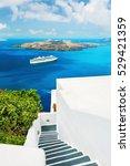 santorini island  greece.... | Shutterstock . vector #529421359