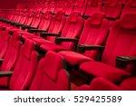 cinema   theatre seats. | Shutterstock . vector #529425589