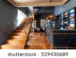 interior of reception area with ... | Shutterstock . vector #529430689