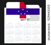 Calendar Grid For 2017 With...