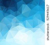 blue polygonal mosaic...   Shutterstock .eps vector #529445617