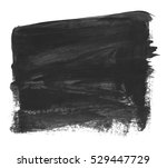 brush stroke and texture. smear ... | Shutterstock . vector #529447729
