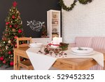 Christmas Design Of Dining Hal...