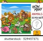 cartoon illustration of... | Shutterstock .eps vector #529457371