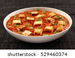 famous indian food recipe... | Shutterstock . vector #529460374