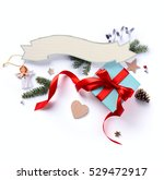 christmas holiday decoration ...   Shutterstock . vector #529472917