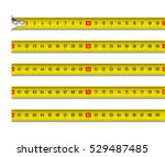 tape measure vector... | Shutterstock .eps vector #529487485