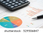 analysis of business reports ... | Shutterstock . vector #529506847