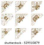 set of design resources. | Shutterstock .eps vector #529510879