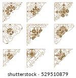 set of design resources. | Shutterstock .eps vector #529510879