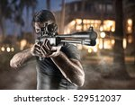 close up of man in headgear... | Shutterstock . vector #529512037