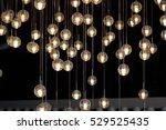 lighting balls on the... | Shutterstock . vector #529525435