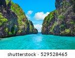 Beautiful Tropical Blue Lagoon...