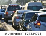 traffic jams in the city  road  ...   Shutterstock . vector #529534735