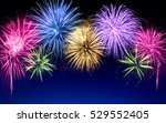 gorgeous multi colored... | Shutterstock . vector #529552405