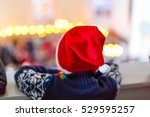 Cute Little Child On Christmas...
