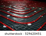 floor heating pipe.... | Shutterstock . vector #529620451