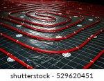 floor heating pipe.... | Shutterstock . vector #529620451