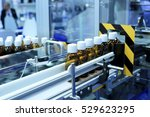 factory for the production of... | Shutterstock . vector #529623295