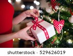 unrecognizable woman in front... | Shutterstock . vector #529626019