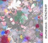 grunge paint texture. abstract... | Shutterstock .eps vector #529629649
