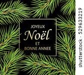 joyeux noel et bonne annee  ...   Shutterstock .eps vector #529633219