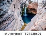 spa pool  hamersley gorge ... | Shutterstock . vector #529638601