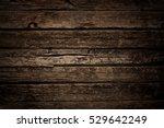 old grunge wood background ... | Shutterstock . vector #529642249