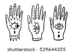 set fashion hands hamsa fatima...