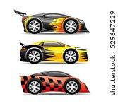 cars set. | Shutterstock .eps vector #529647229
