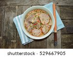 "vietnamese food "" bun bo hue"" | Shutterstock . vector #529667905"