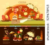 china infographics culture and... | Shutterstock .eps vector #529678915