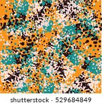 allover pattern design brush  | Shutterstock .eps vector #529684849